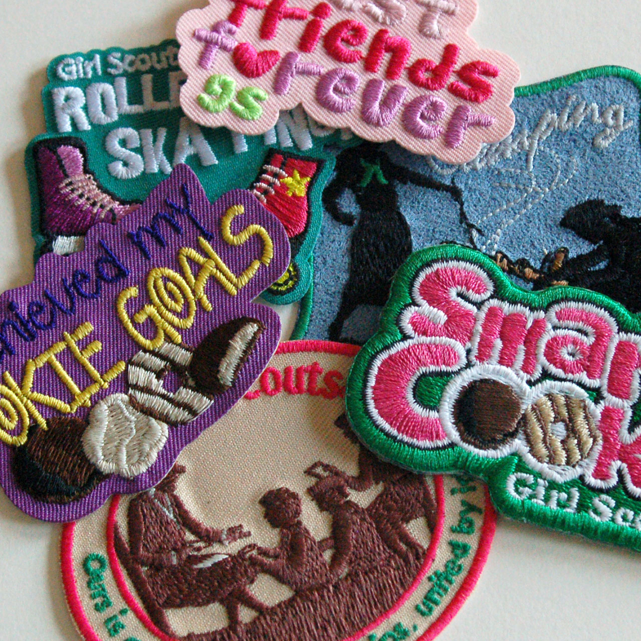 Girl Scout Fun Patches
