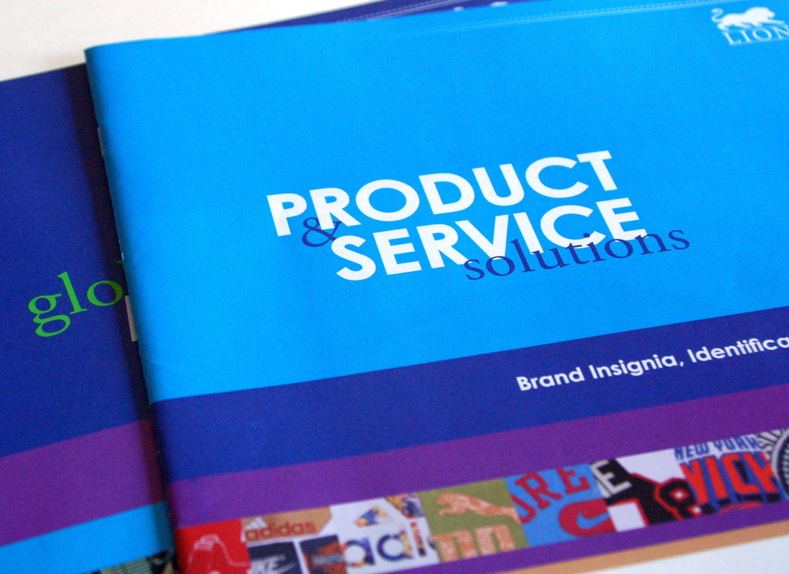 Lion Brothers Products & Services booklet cover photo