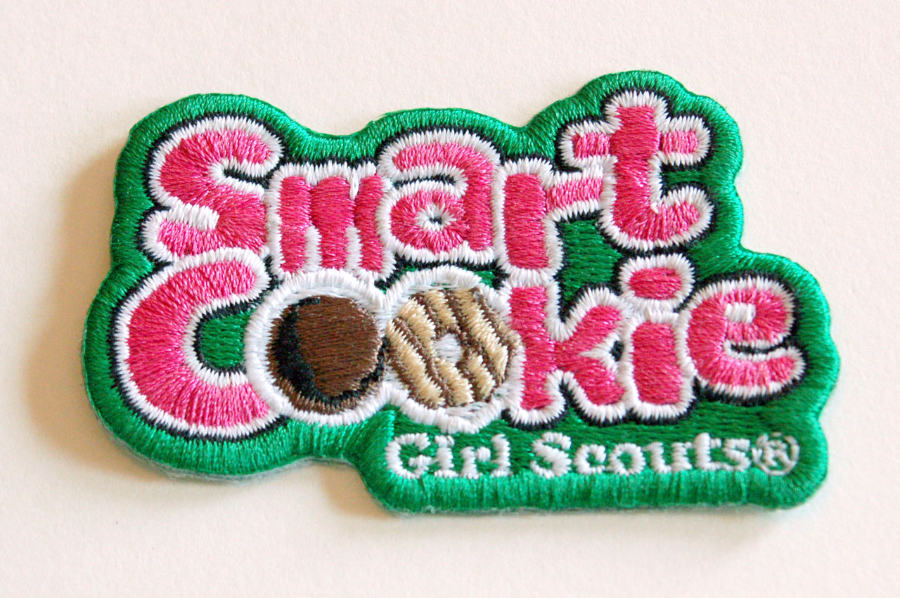 Girl Scout Fun Patches smart cookie